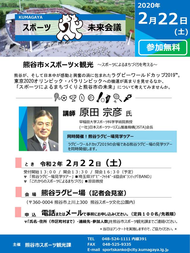 2020.2.22KUMAGAYAスポーツ未来会議