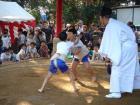 妻沼聖天山秋季例大祭子ども相撲大会その3